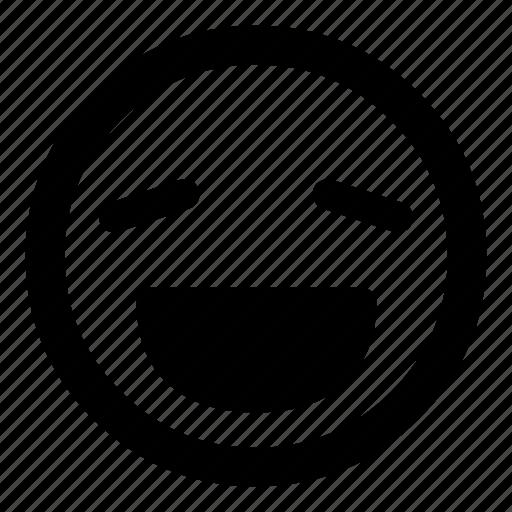 :d, emoticon, emoticons, happy, joy, laugh, smiley icon