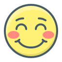 be, embarrassed, embarrassment, emoji, face, smile, smiley icon