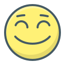smiley, positive, face, smile icon