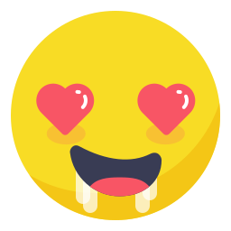 face, heart, horny, in love, love, smile, smiley icon