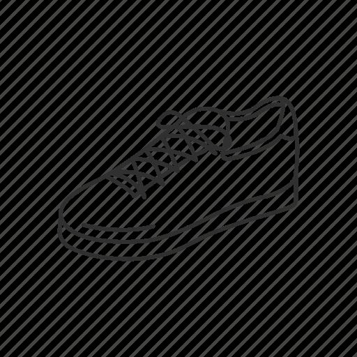 athlete, athlete shoe, footgear, footwear, running shoe, shoe, sports shoe icon