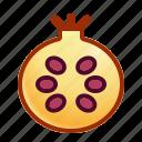 food, fruit, fruity, pomegranate