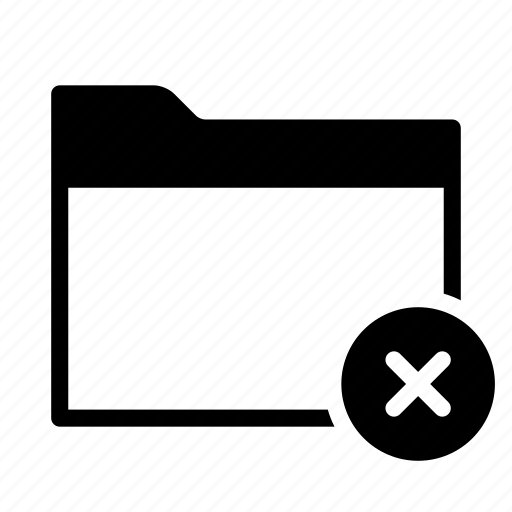 collection, delete, folder, group, remove icon