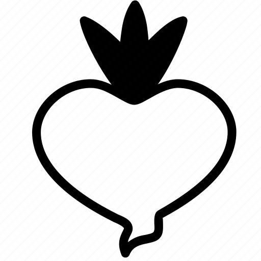 beetroot, food, fruit, plant, vegetable icon