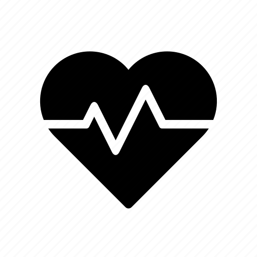 health, heart, medical, pulse, surge icon