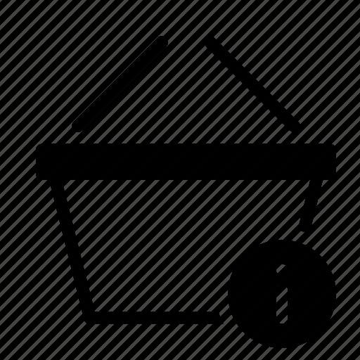 basket, buy, detail, info, shop, shopping icon