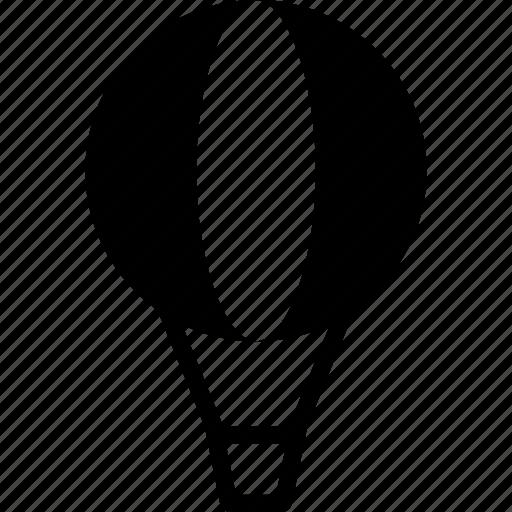air, balloon, flight, hot, sky, transport, travel icon