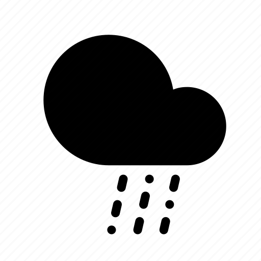 cloud, forecast, rain, sleet, weather icon