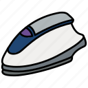 appliance, clothes, electric, iron, laundry icon