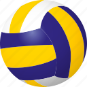 ball, beach volleyball, equipment, sports, volleyball icon