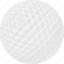ball, equipment, golf, sports icon