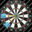 darts, arrows, sports, target, dartboard, equipment