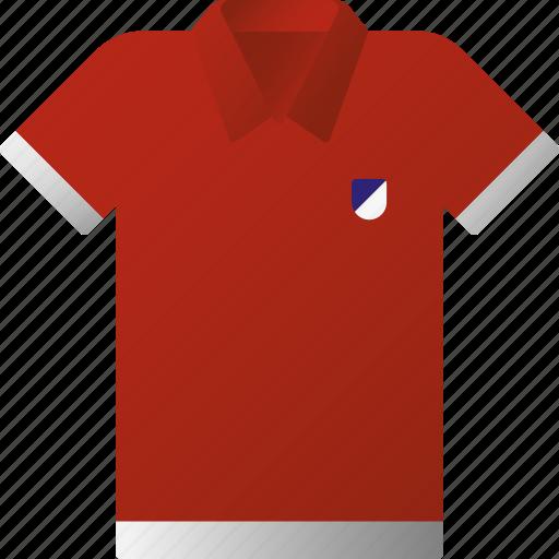 equipment, polo shirt, sports, sports wear, team icon