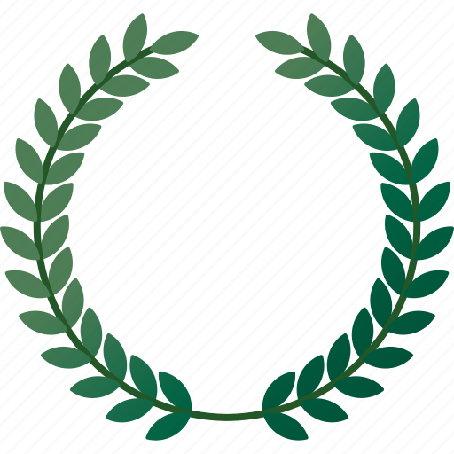 award, championship, equipment, honor, laurel, sports, wreath icon