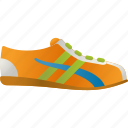 equipment, foot wear, shoe, sneaker, sports, sports wear icon