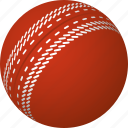 ball, cricket, equipment, sports, stitches icon