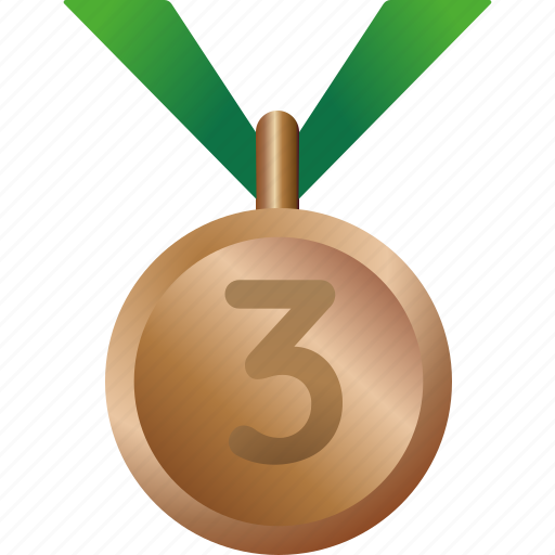 award, bronze, equipment, medal, prize, sports icon
