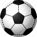 ball, equipment, soccer, sports icon