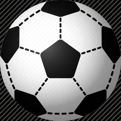 ball, equipment, soccer, sports icon