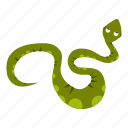 animal, danger, nature, serpent, snake, spot, wildlife icon