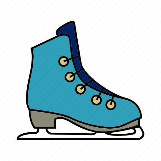 ice, shoes, skate, skating, sport icon
