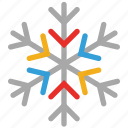 snow, snowflake, christmas