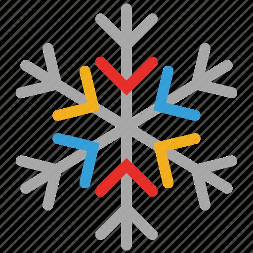 christmas, snow, snowflake icon