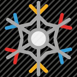 christmas, decoration, snowflake, winter icon