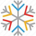 snowflake, snowflake snow, transparent, winter icon