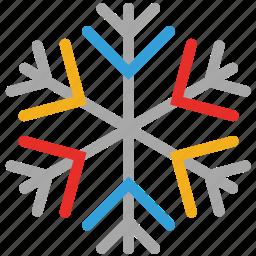 snowflake, snowflake snow, transparent, winter icon