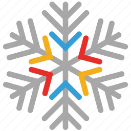 snow, snowflake, snowflakes for winter, winter icon