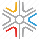 snow, snowflake, snowflake snow, winter icon
