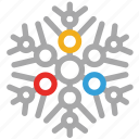 abstract snowflakes, ice, snowflake, winter icon