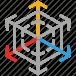 snow, snowflake, snowflake silhouette, winter icon