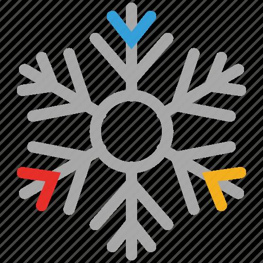 snow, snowflake, winter, winter snowflake icon