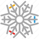 abstract, abstract snowflakes, snow, snowflake icon