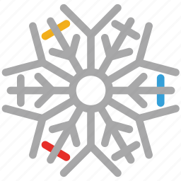 abstract, abstract snowflakes, snow, snowflake icon