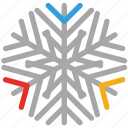 snow, detailed, detailed design, snowflake