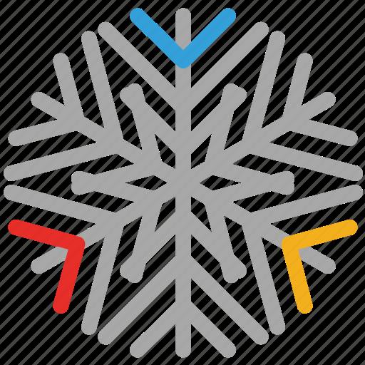 detailed, detailed design, snow, snowflake icon
