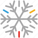 decorations, snow, snowflakes for christmas, xmas icon
