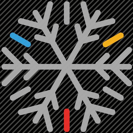 decorations, snow, snowflakes for christmas, xmas icon