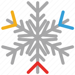decorations, snow, snowflake icon