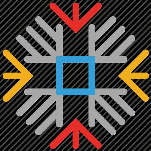 decorative, decorative snowflakes, snow, snowflake icon