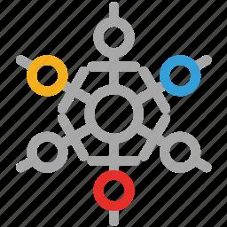 snow, snowflake snow, winter, winter snowflakes icon