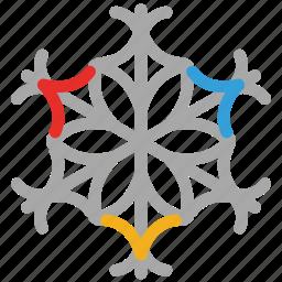 decoration, decorative, snow, winter snowflakes icon