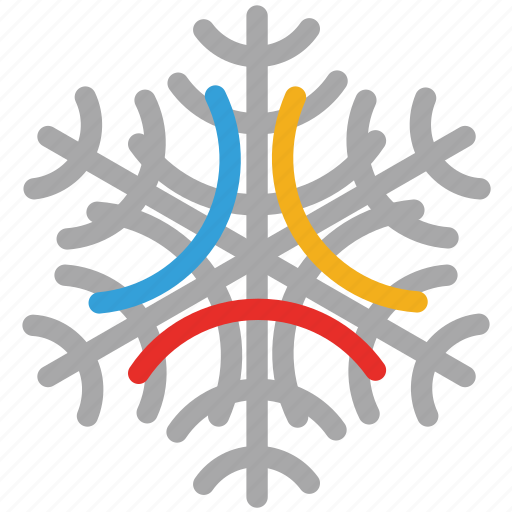decorative, decorative snowflakes, snow, snowflake icon