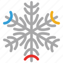 creative, shape, snow flowers, snowflake icon