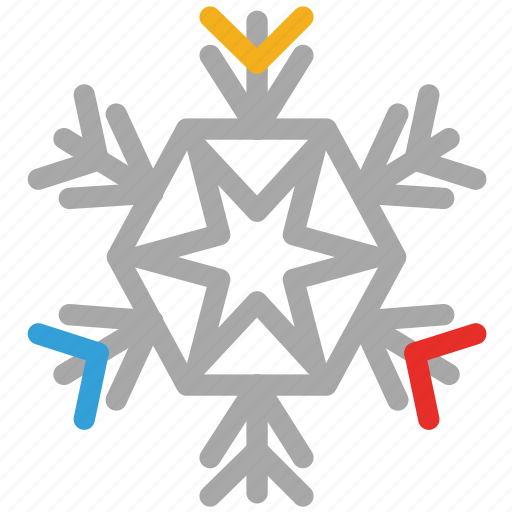 christmas, christmas ornaments, decorations, snowflake icon