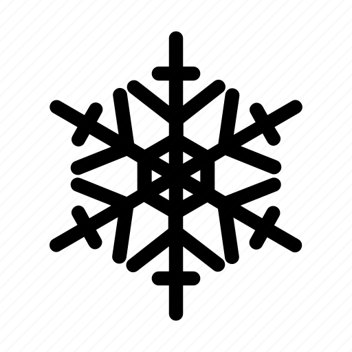 ornament, snow, snowflake, winter icon