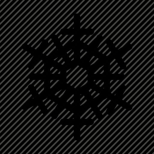 ornament, snow, snowflake, winter icon
